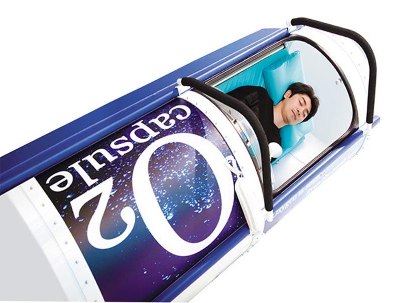 酸素ベッドカプセル
