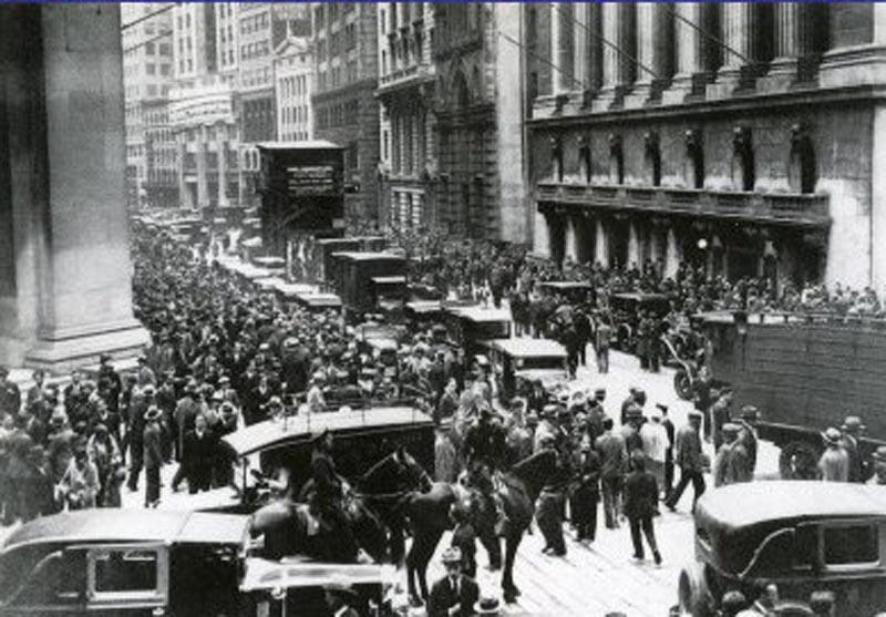 1929年ウォール街大暴落
