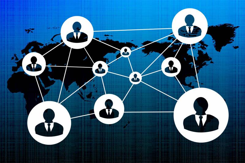 社員のネットワーク