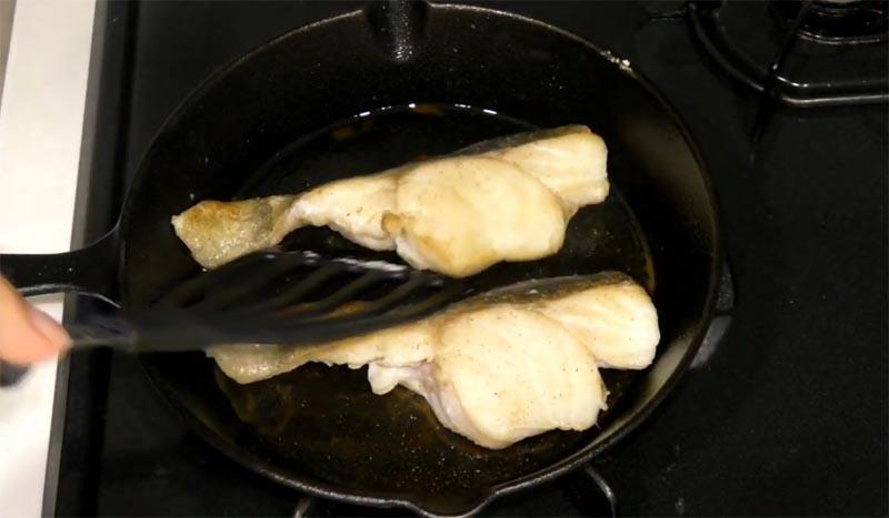 真鱈のバター焼き