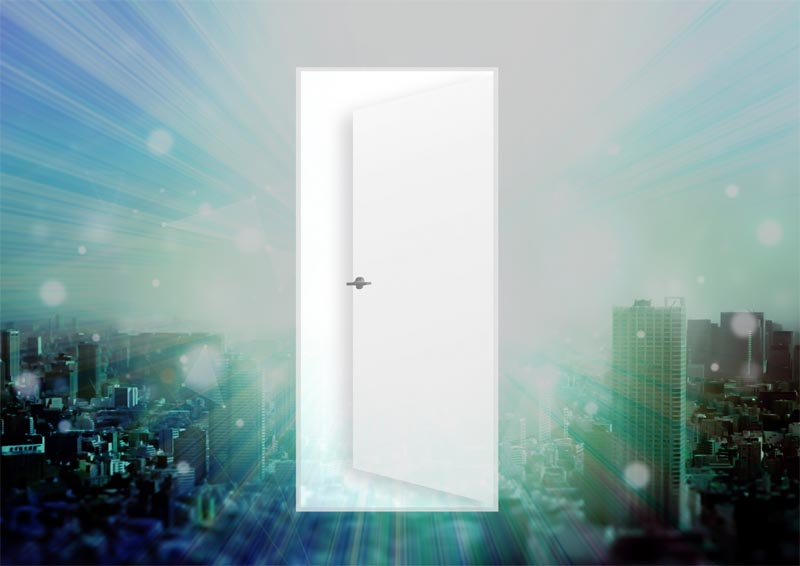 新しい世界の扉