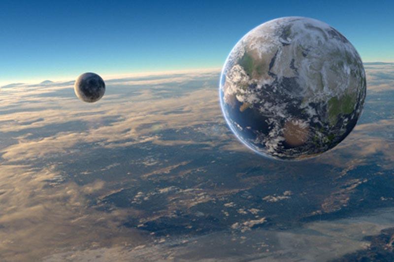 リアルワールドの地球