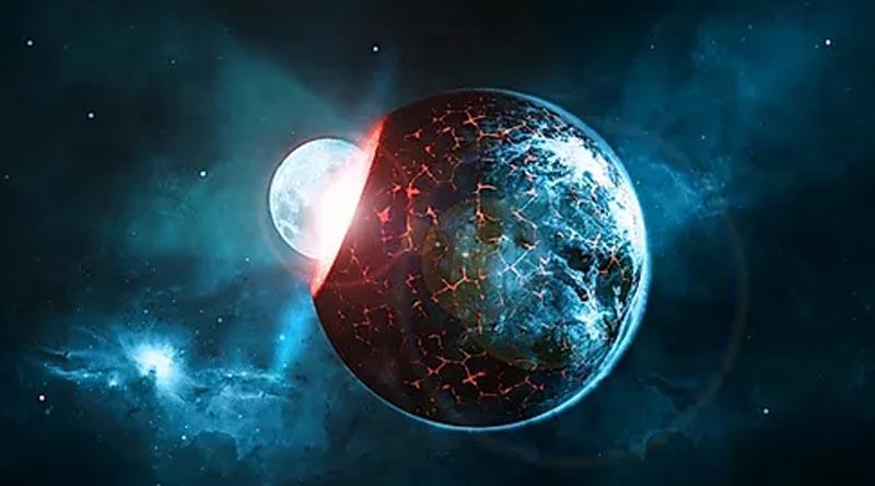 新しく誕生する地球