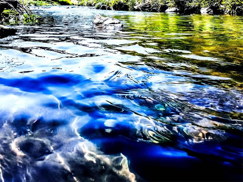 川の流れの変化