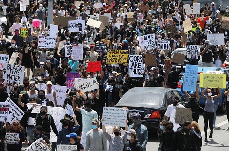 米国の黒人殺害に対する反対運動