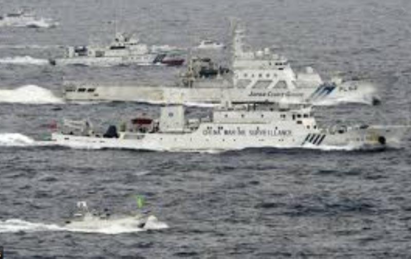 中国船の領海侵犯