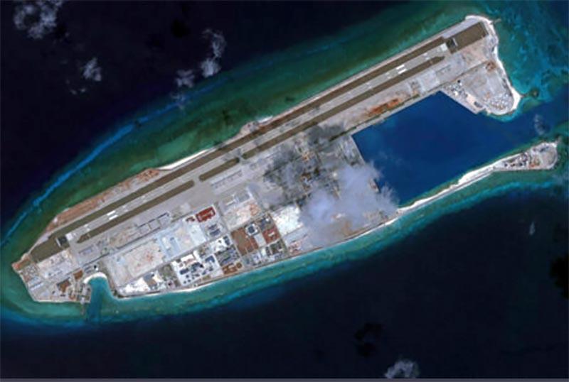 中国の人工島
