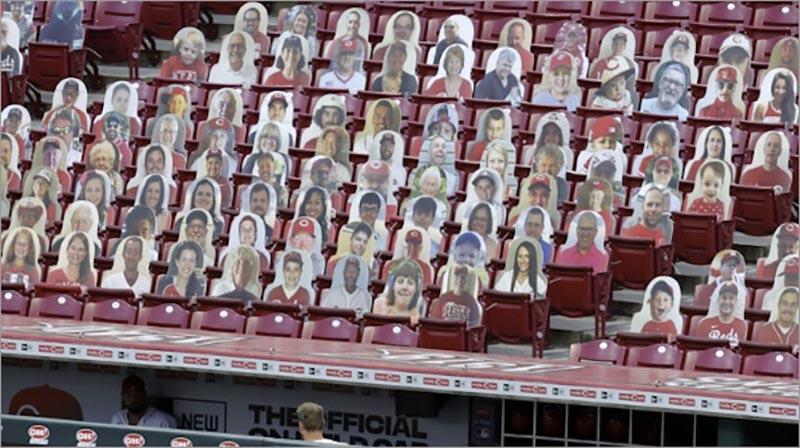 メジャーリーグでの観客風景