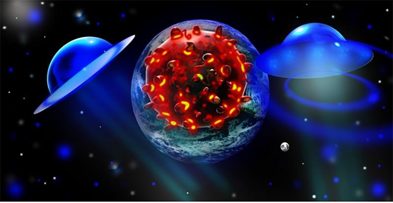 宇宙からやってくる細菌