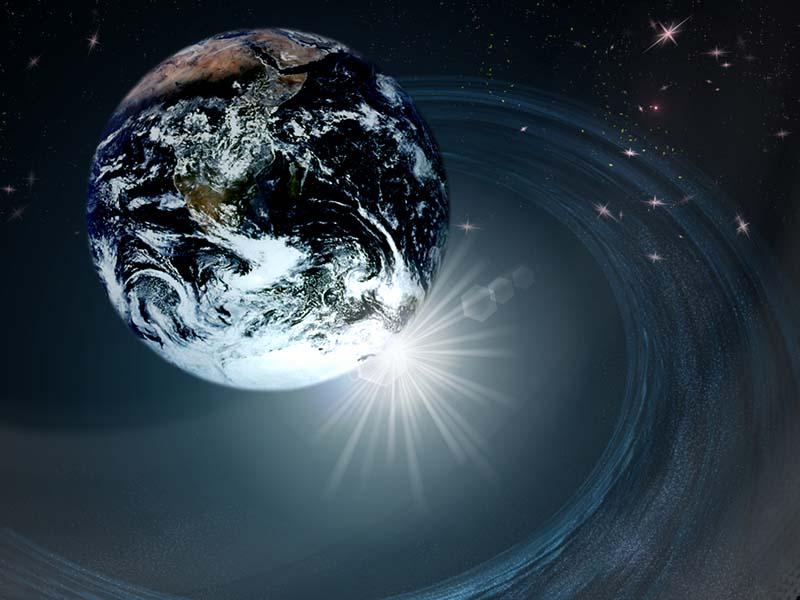 分裂する地球