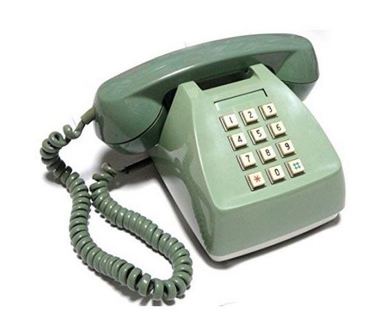 プッシュ式電話