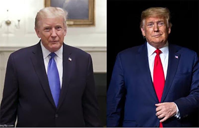 トランプ大統領の影武者