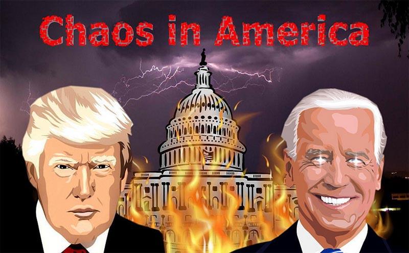 米国大統領選はカオスに