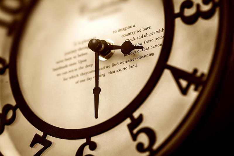 時間の速さ