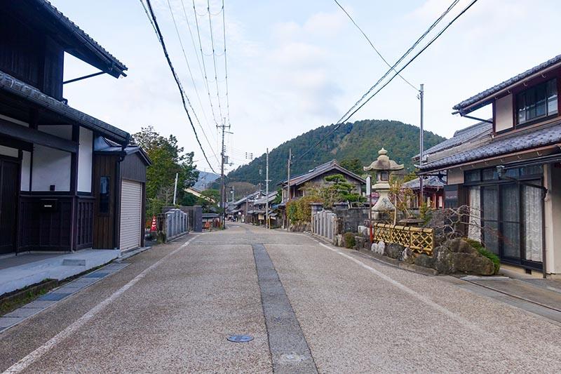 江戸時代の趣を残す風景