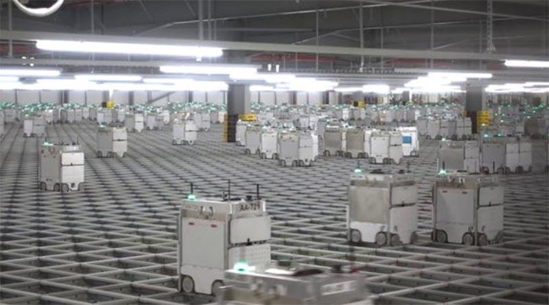 ロボット搬送システム